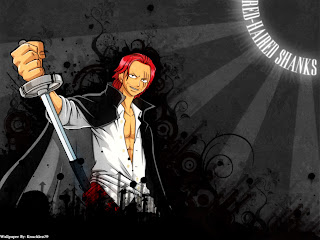 shanks le roux wallpaper one piece anime
