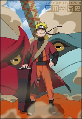 uzumaki naruto sage mode hokage shippuden chronical kyubi rasengan wallpaper chronical