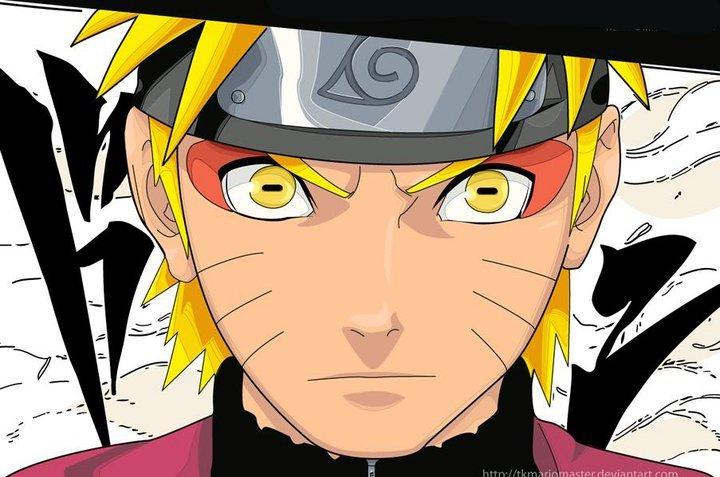 naruto sage mode kyuubi. Uzumaki Naruto Sage Mode