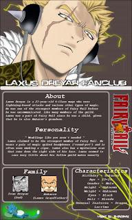 Laxus Dreyar Luxus Dreher Dragon Slayer fairy tail