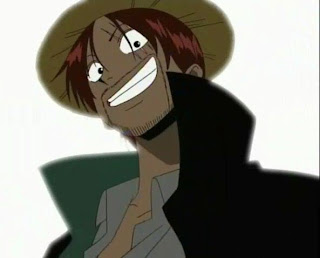 shanks le roux one piece red haired four empeor yonkou marineford