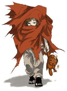little gaara naruto of the desert sand