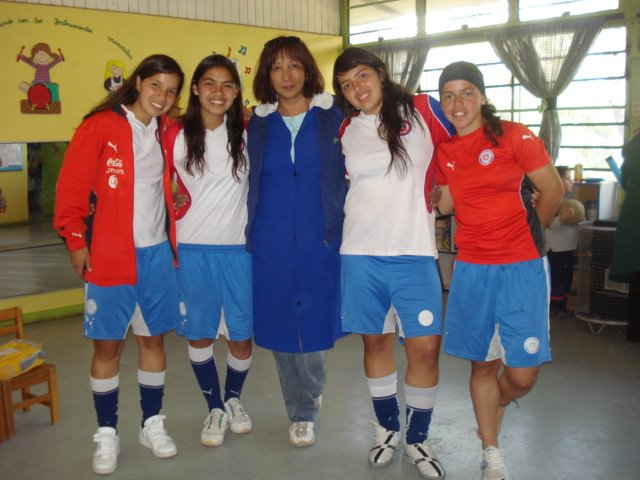 seleccion  chilena de futbol  femenina