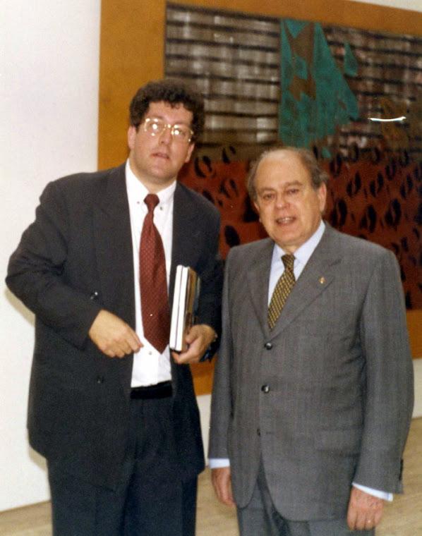 """Jordi Pujol Visita Malmö Suecia 1998 Inauguración del diseño catalán  """"De Gaudí al Siglo XXI"""""""