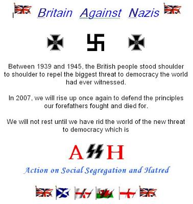 ASH are Nazis