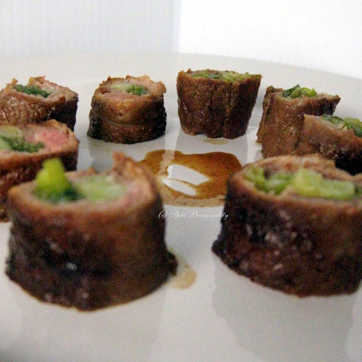 Split Pearsonality Recipe Collection: Beef Negimaki
