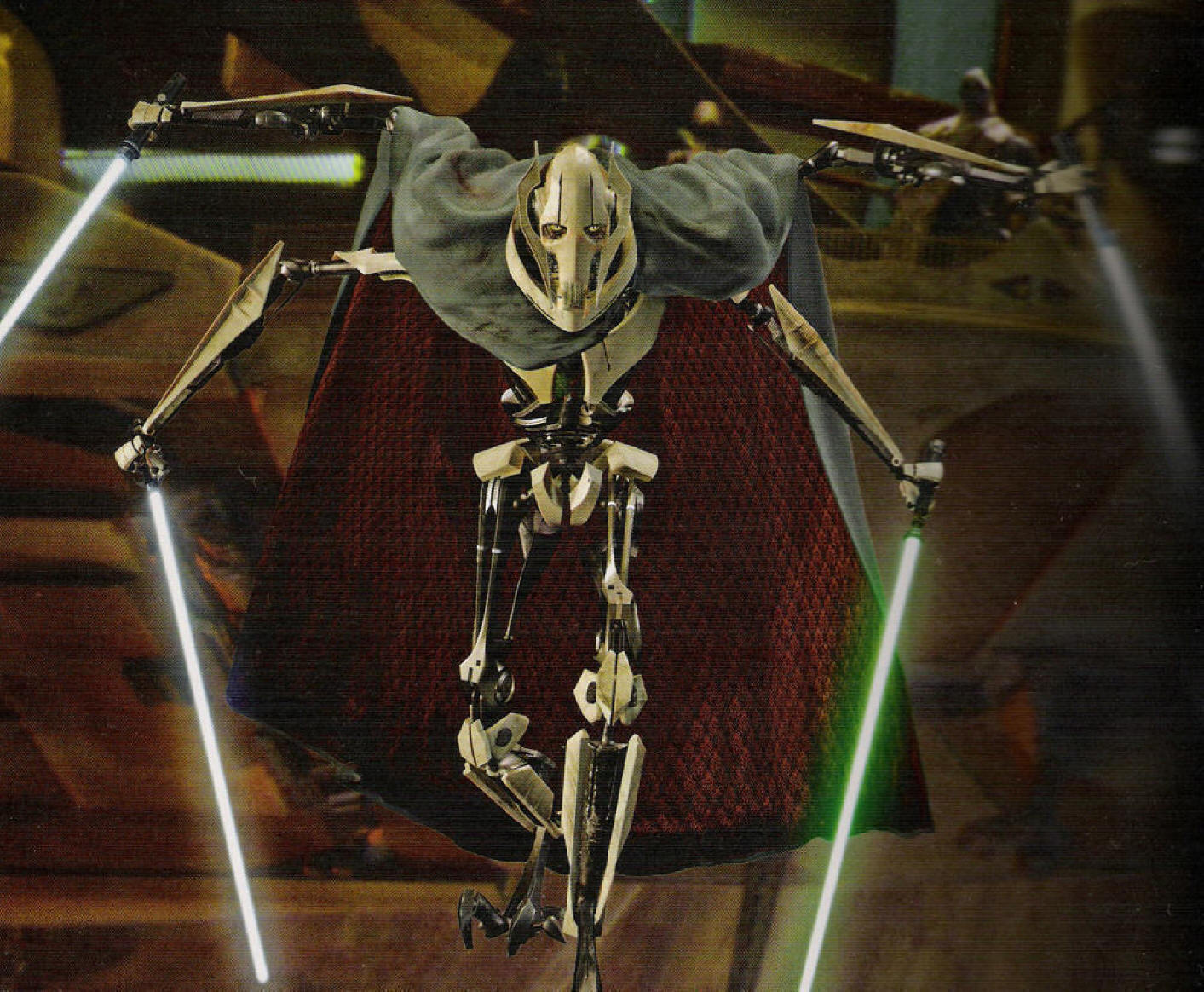 general grievous height