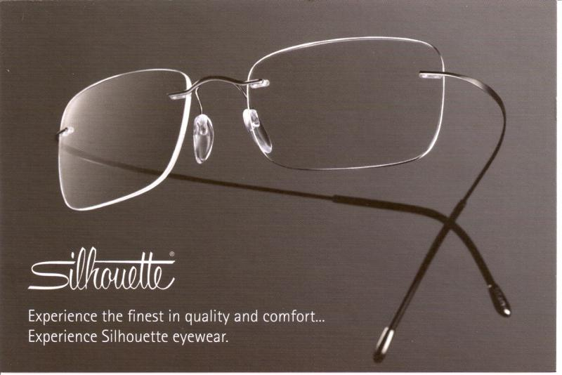 Rimless Eyeglass Lens Replacement : Silhouette Rimless Eyeglasses
