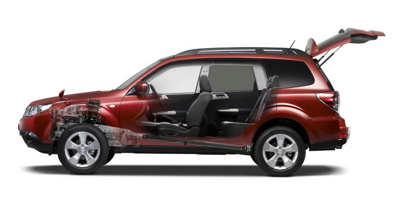 World Automobiles Car Photos Concept Usa And In The World Subaru Forester 2008
