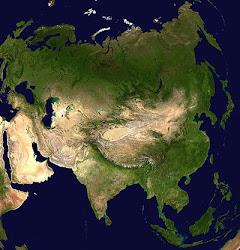 Uydudan Asyanın GÖRÜNÜMÜ