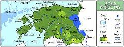 estonya ve bölgeleri
