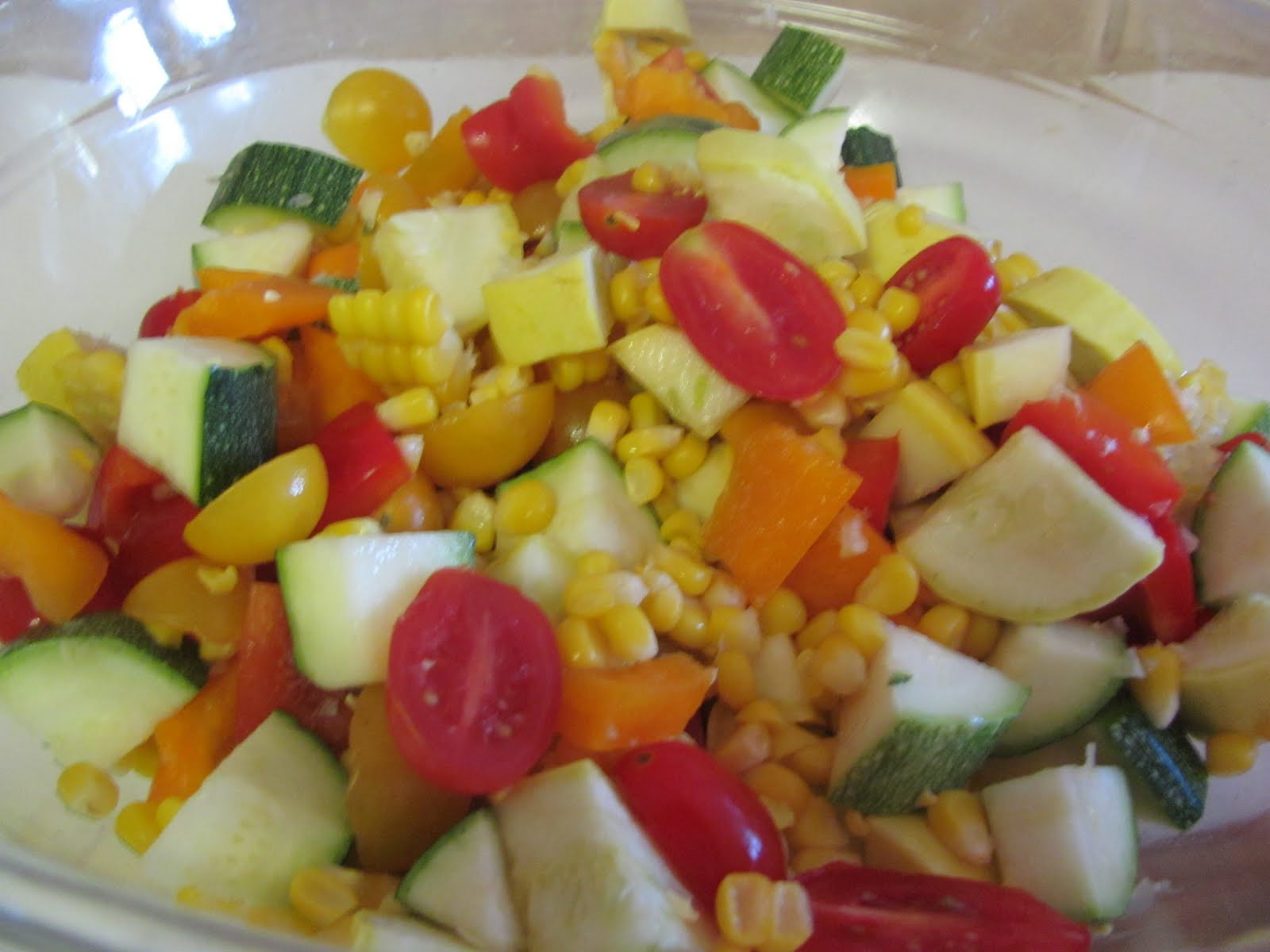 Growing Gourmets: Summer Bread Salad