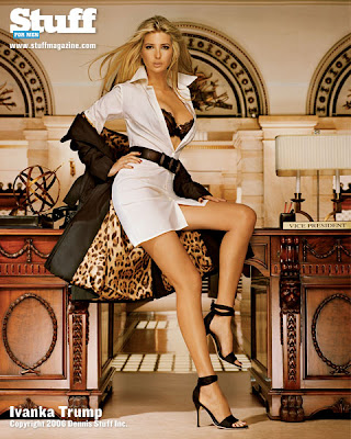 billionaire Donald Trump's daughter on magazine
