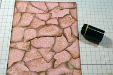 Faux Torn Mosaic