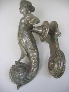 Kinda sorta zen door knockers - Mermaid door knocker ...