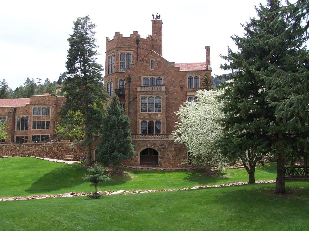 This castle at glen eyrie is the headquarters of the for Glen castle