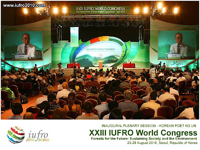 EntMoot / XIII IUFRO World Congress, Seoul, Korea / IUFRO, the International Union of Forest Research Organizations / The Global Network for Forest Science Cooperation / IUFRO non-profit, non-governmental international network of forest scientists, promotes global cooperation in forest-related research and enhances the understanding of the ecological, economic and social aspects of forests and trees / Gustavo Iglesias Trabado & Roberto Carballeira Tenreiro & Javier Folgueira Lozano / GIT Forestry Consulting, Consultoría y Servicios de Ingeniería Agroforestal, Galicia, España, Spain / Eucalyptologics, information resources on Eucalyptus cultivation around the world / Eucalyptologics, recursos de informacion sobre el cultivo del eucalipto en el mundo