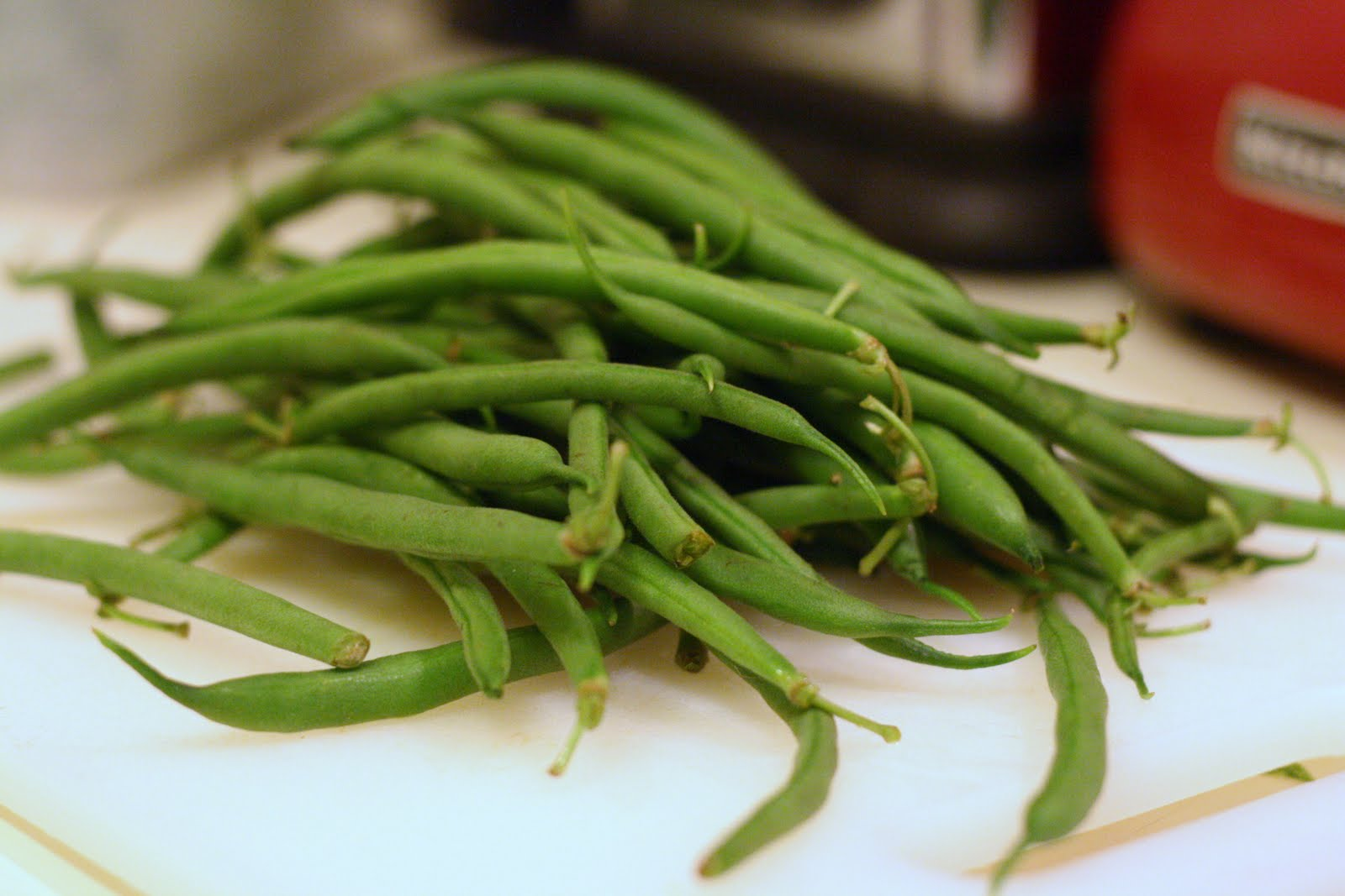 Laine's Recipe Box: Sesame Green Beans