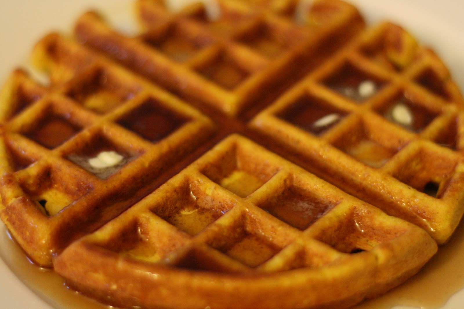 Laine's Recipe Box: Carrot and Corn-Flour Waffles