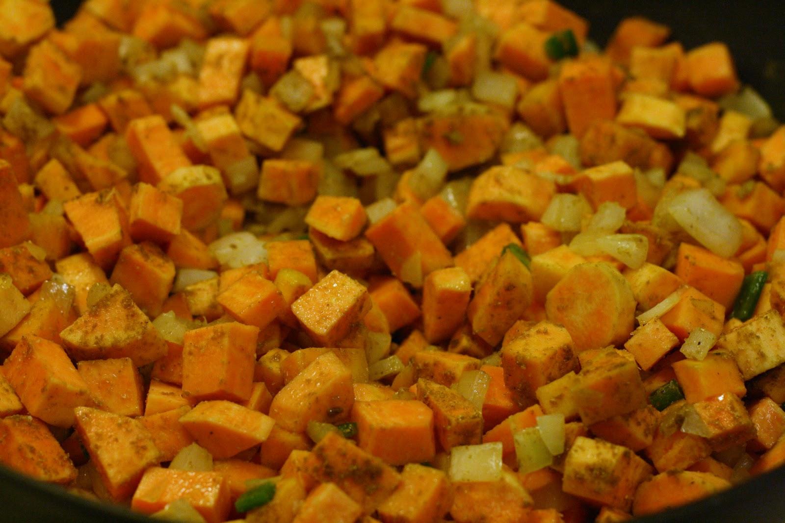 Silvana Franco's Sweet Potato Hash Recipe — Dishmaps