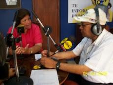 Con Lourdes Flores Nano