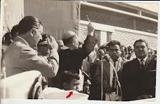 Con Belaúnde en la inauguración del Terminal de Paita (1966)