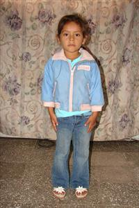 My Sponsor Child Sara!