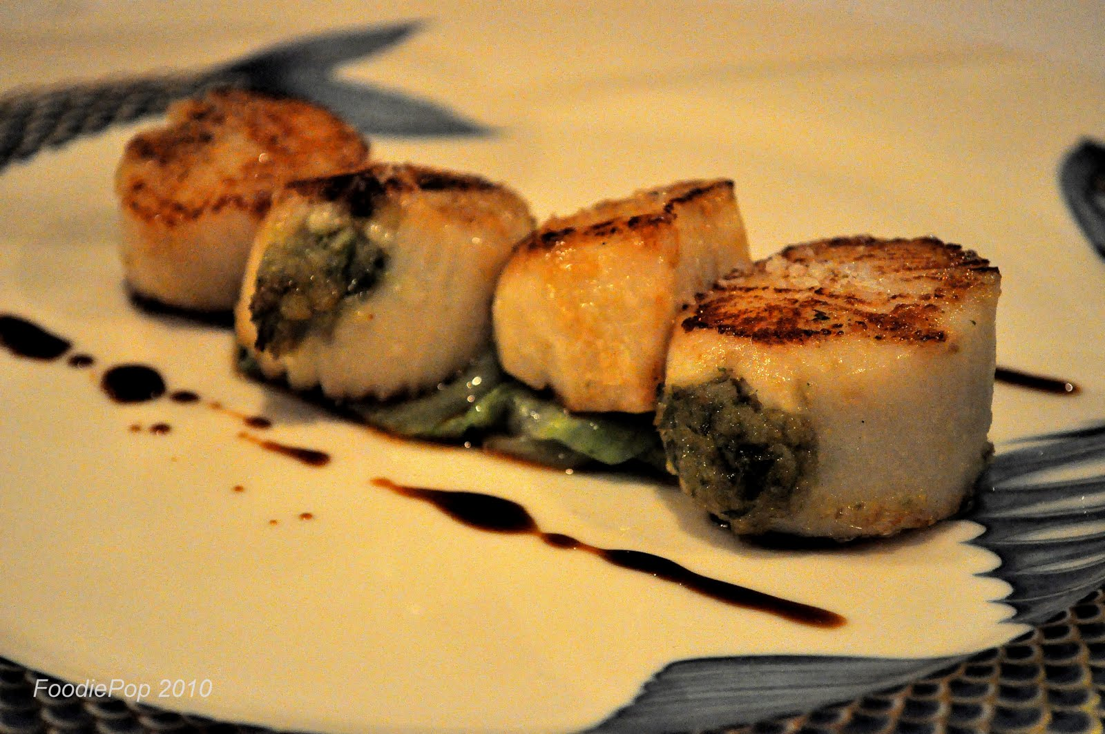 seared scallops with salsa verde recipes dishmaps seared scallops ...
