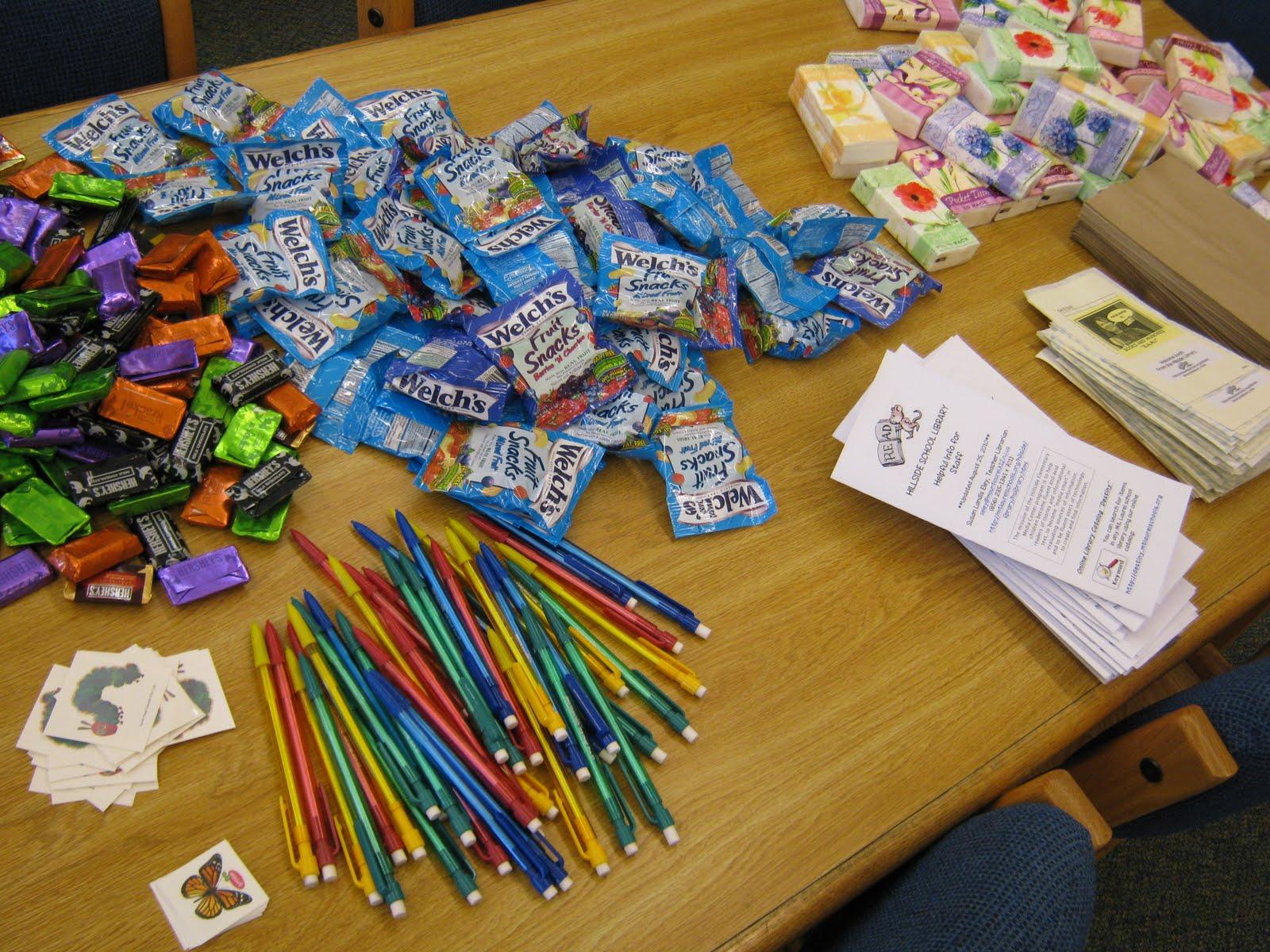 Hillside Elementary School Library Welcome Back Teacher