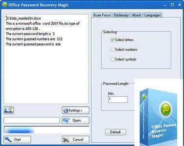 Office Password Recovery Magic
