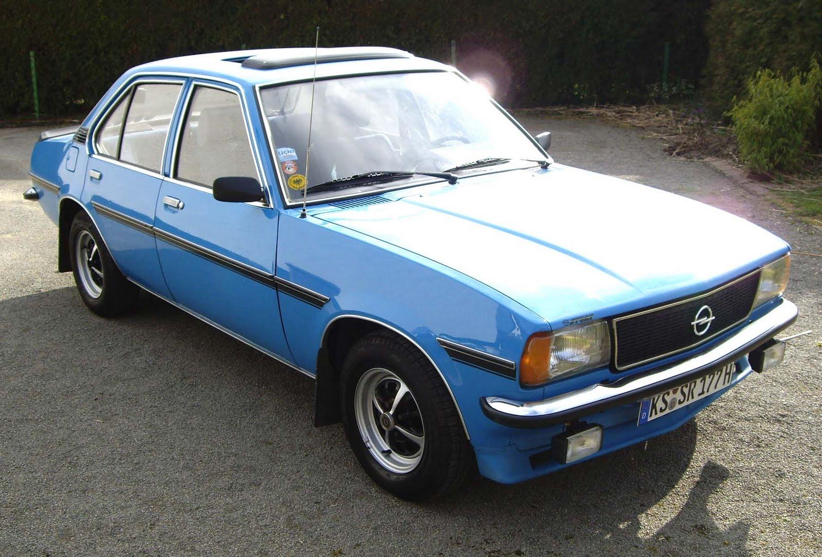 legendary cars opel ascona b 1975 1981