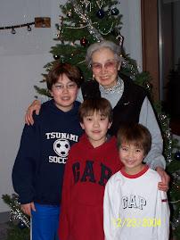 Grandsons Kyle, Kristopher, Colin