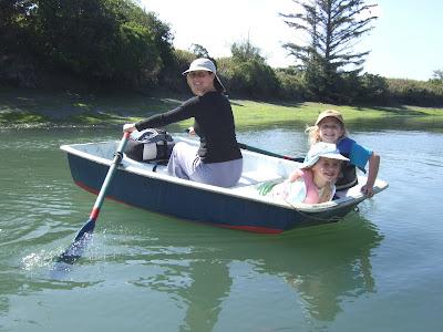 rowing boat in King Salmon