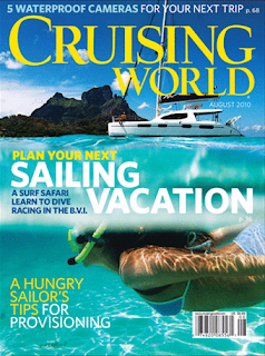 August 2010 Cruising World magazine cover