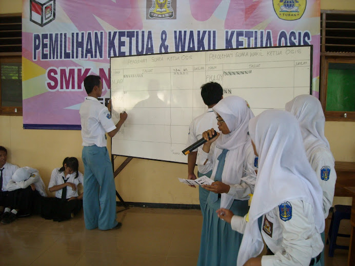 Pesta Demokrasi SMK N 3 Tuban