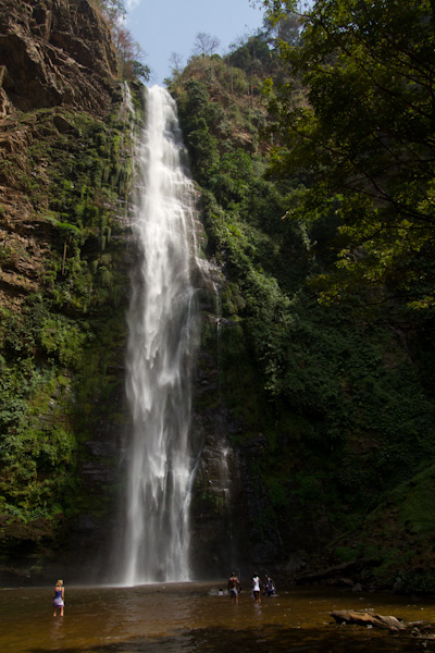 Wli Waterfalls  Ghana  YouTube