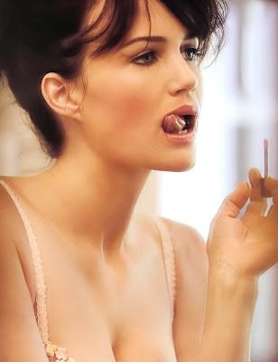 model Carla Gugino hot wallpapers