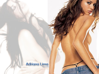 topless Adriana Lima Hot Pictures<br />