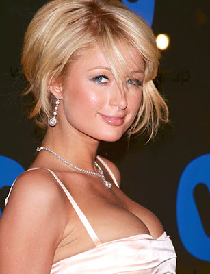 paris hilton smile