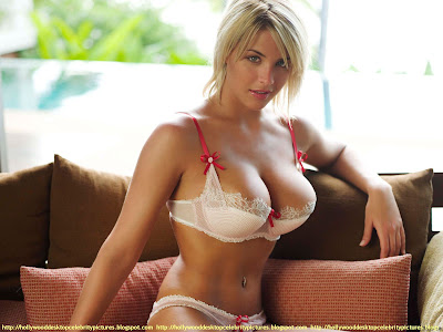 Gemma Atkinson Lingerie in bikini Wallpaper