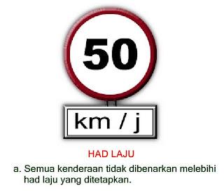 TANDA ISYARAT LALULINTAS LARANGAN DI MALAYSIA