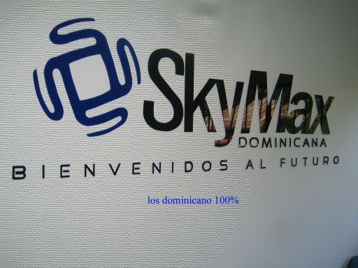 SkyMax Dominicana. 809-586-4949