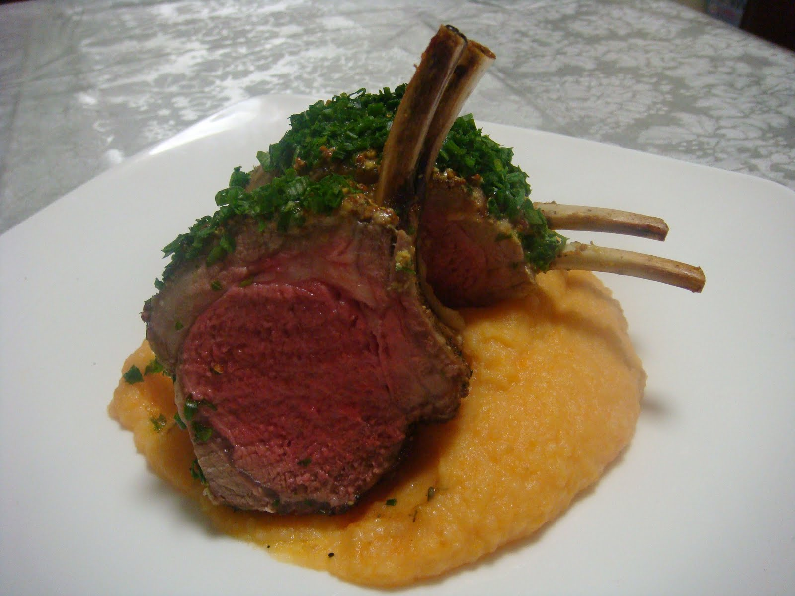 Basic Roasted Rack Of Lamb Recipe — Dishmaps
