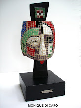 Sculpture-mosaique M Di Caro