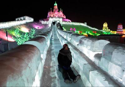 Festival Internacional de esculturas de hielo y nieve