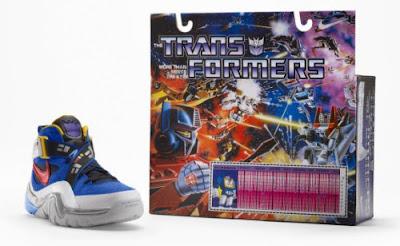 Nike Air Trainer III Transformers Edición Especial para fanáticos