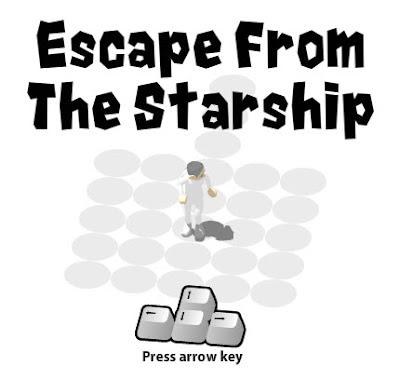 Escapando de la nave estelar!!!