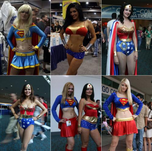 Los mejores disfraces del comic-con 2009