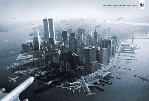 El Tsunami mató 100 veces más gente que el atentado del 11 de septiembre