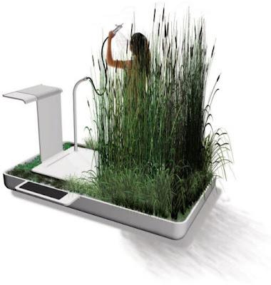 Nueva ducha ecológica filtra el agua que usamos y la hace potable